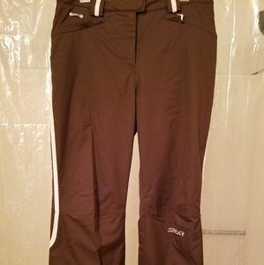 Spyder Snowboard Ski Pants Ladies 10 Insulated